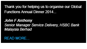 HSBC Testimony - Define International - Event Management Company in Malaysia