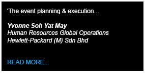HP Testimony - Define International - Event Management Company in Malaysia