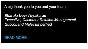 Cuocoland Testimony - Define International - Event Management Company in Malaysia