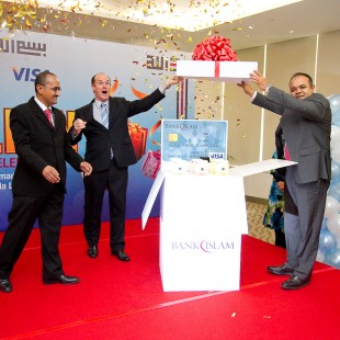 Bank Islam Visa Debit Thanks a Million Launch