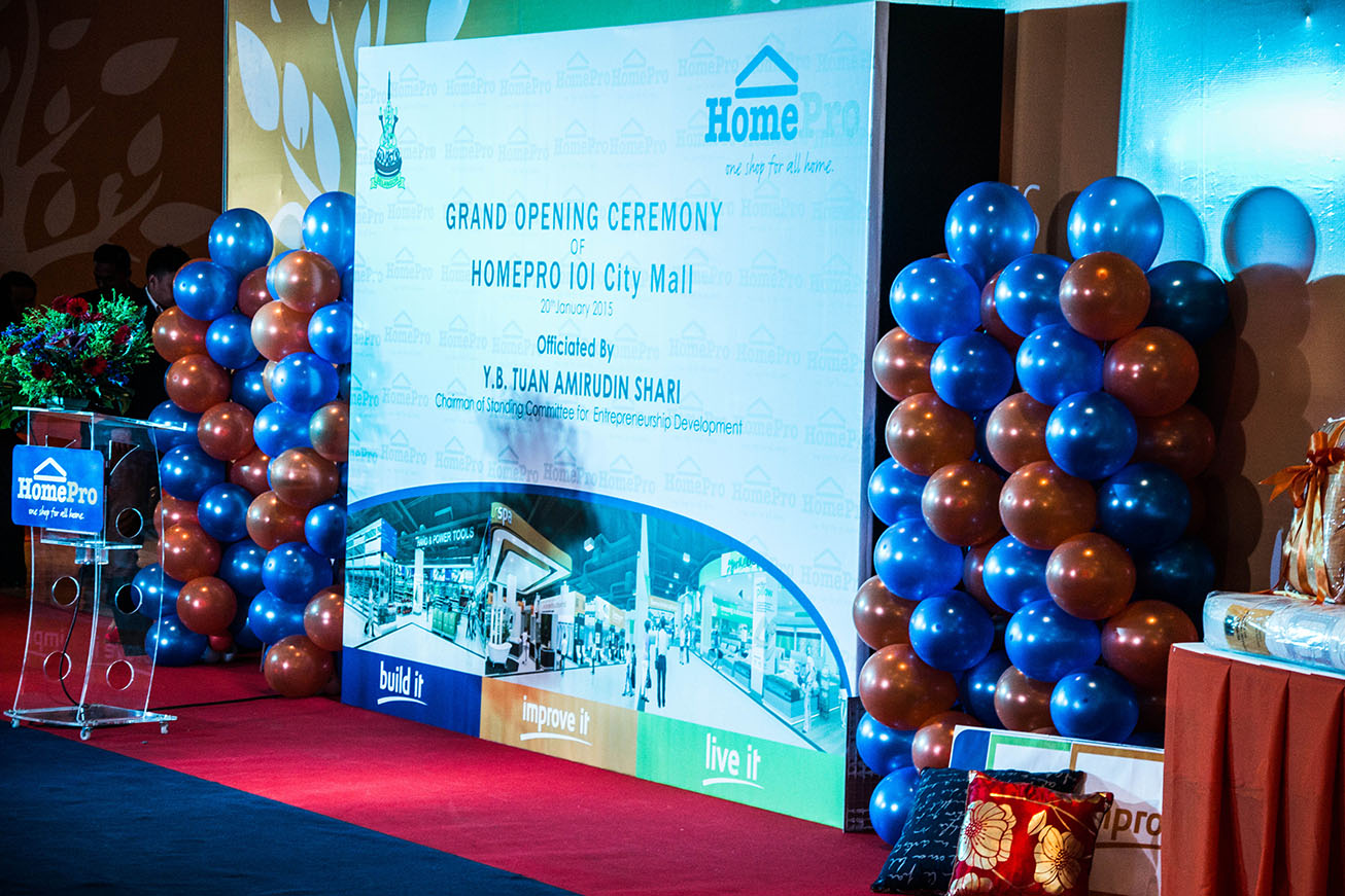 Define International - Grand Opening of HomePro IOI City Mall 2015