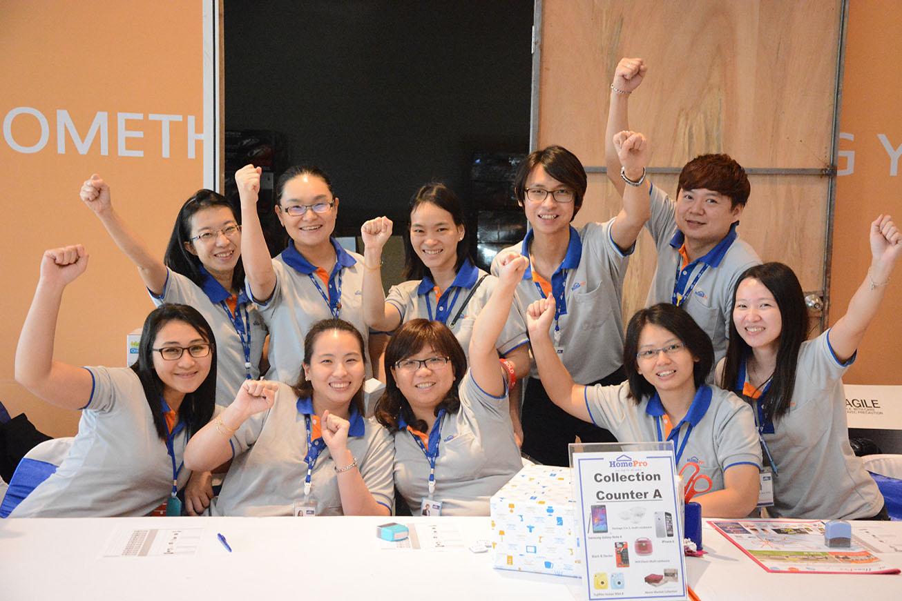 Define International - Grand Opening of HomePro IOI City Mall 2015