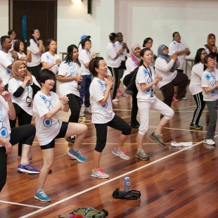 HP Global Wellness Challenge 2015
