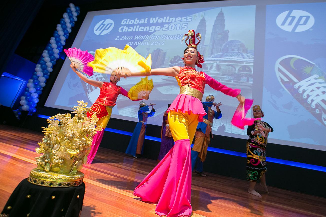Define International - HP Global Wellness Challenge 2015