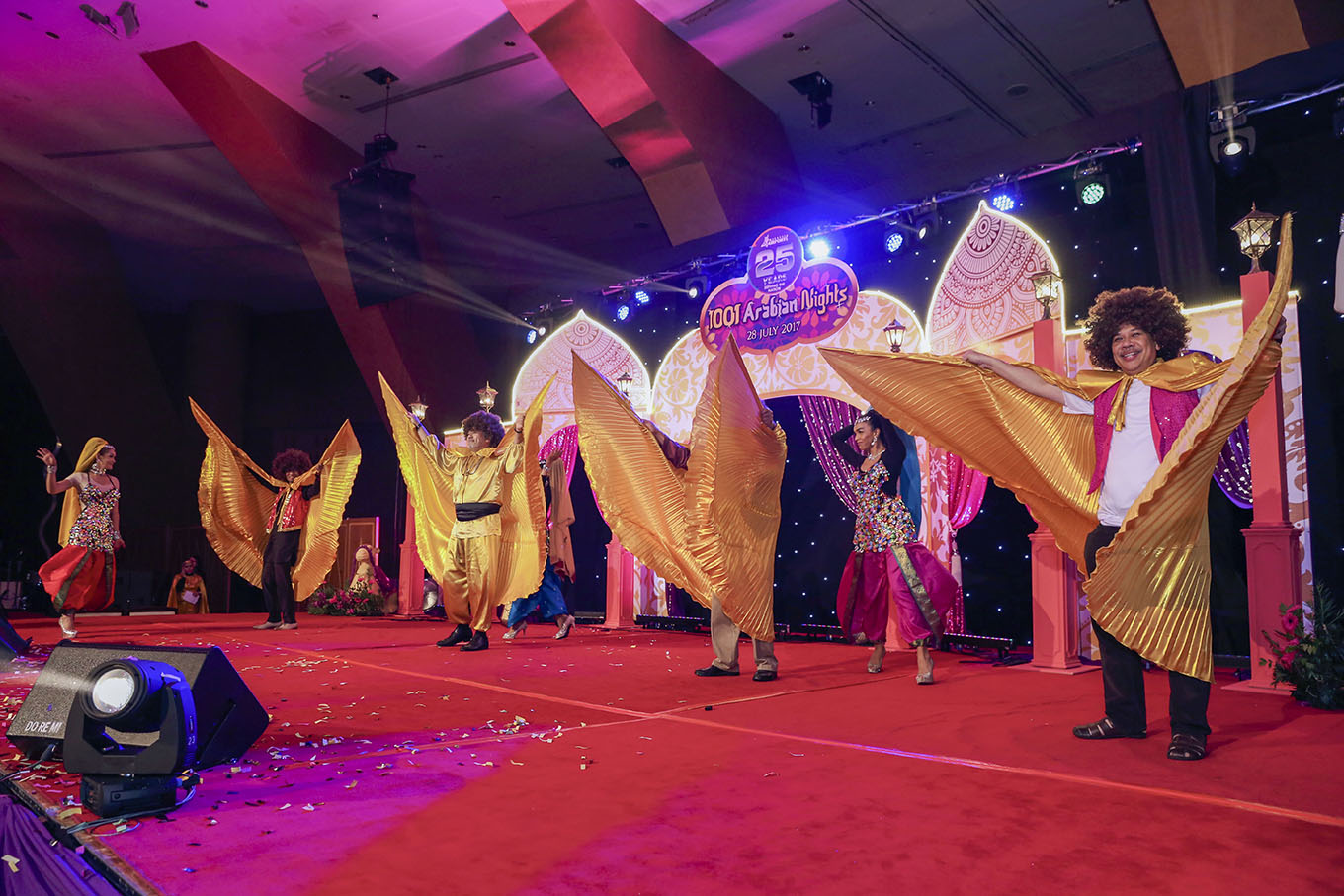 Define International - MAHB Arabian Nights 2017